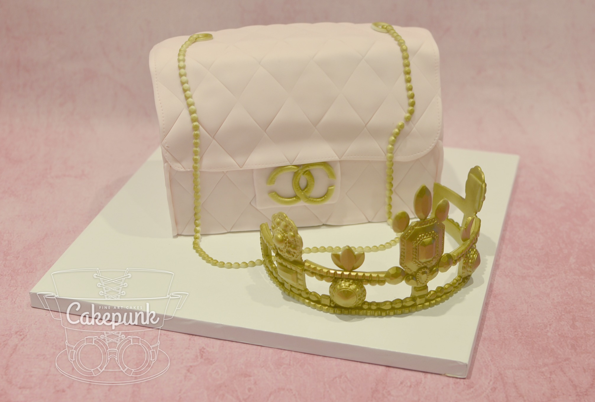 Chanel Purse & Crown