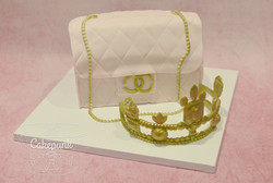Chanel Purse & Crown