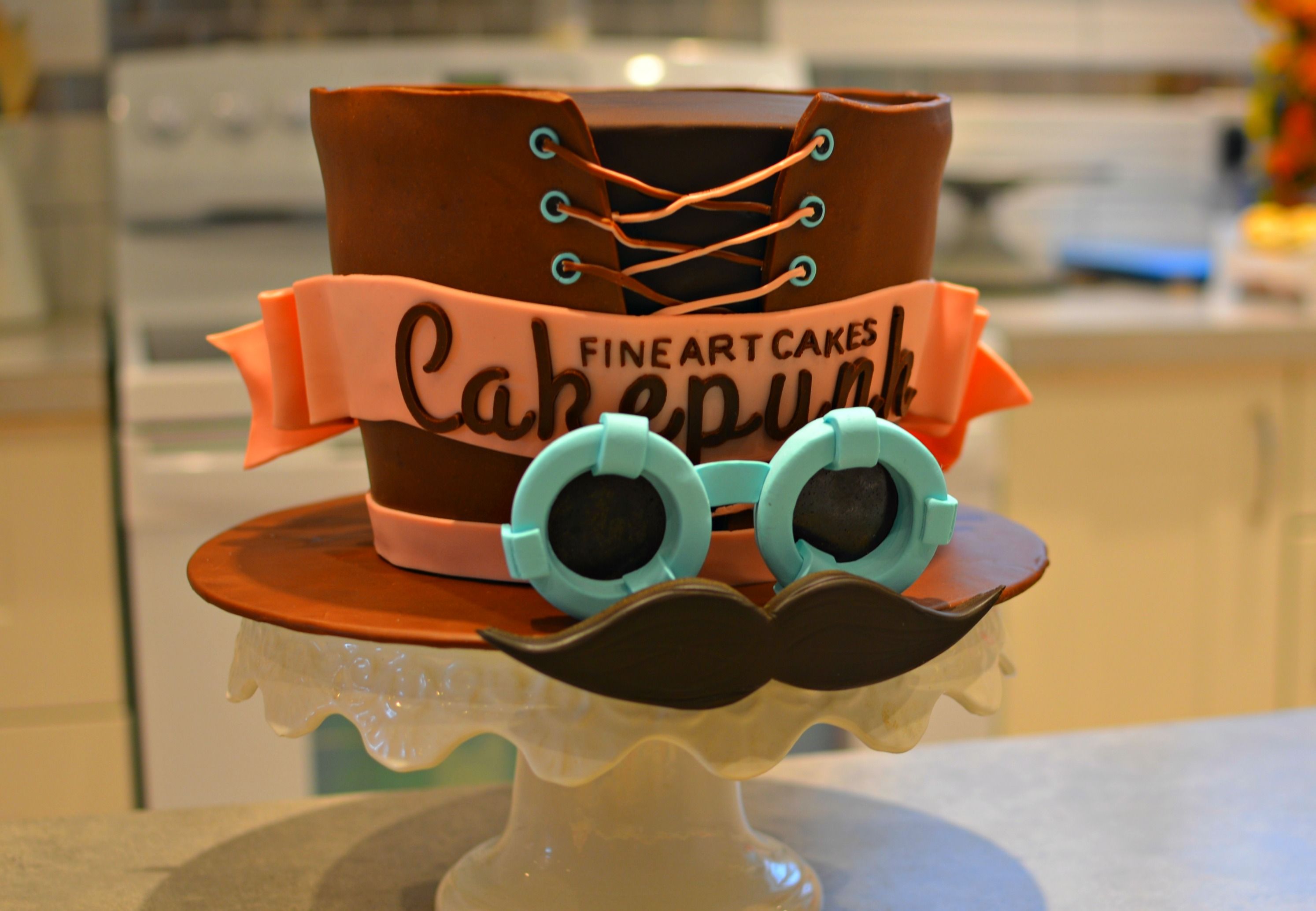 Cakepunk Logo in Cake