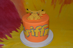 Pokemon & Pikachu Cake