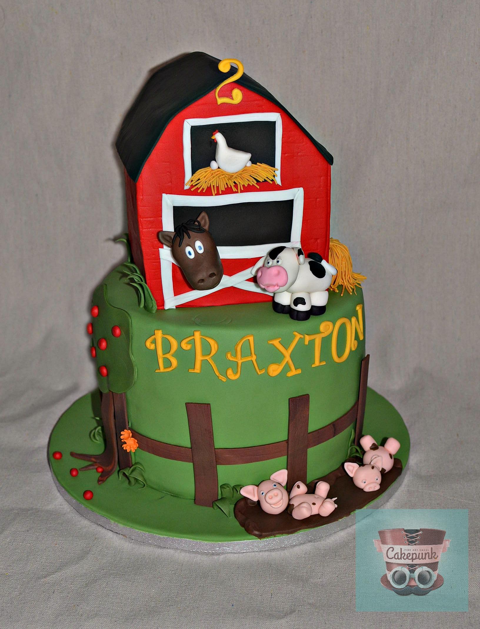 Braxton's Icing Smiles Cake