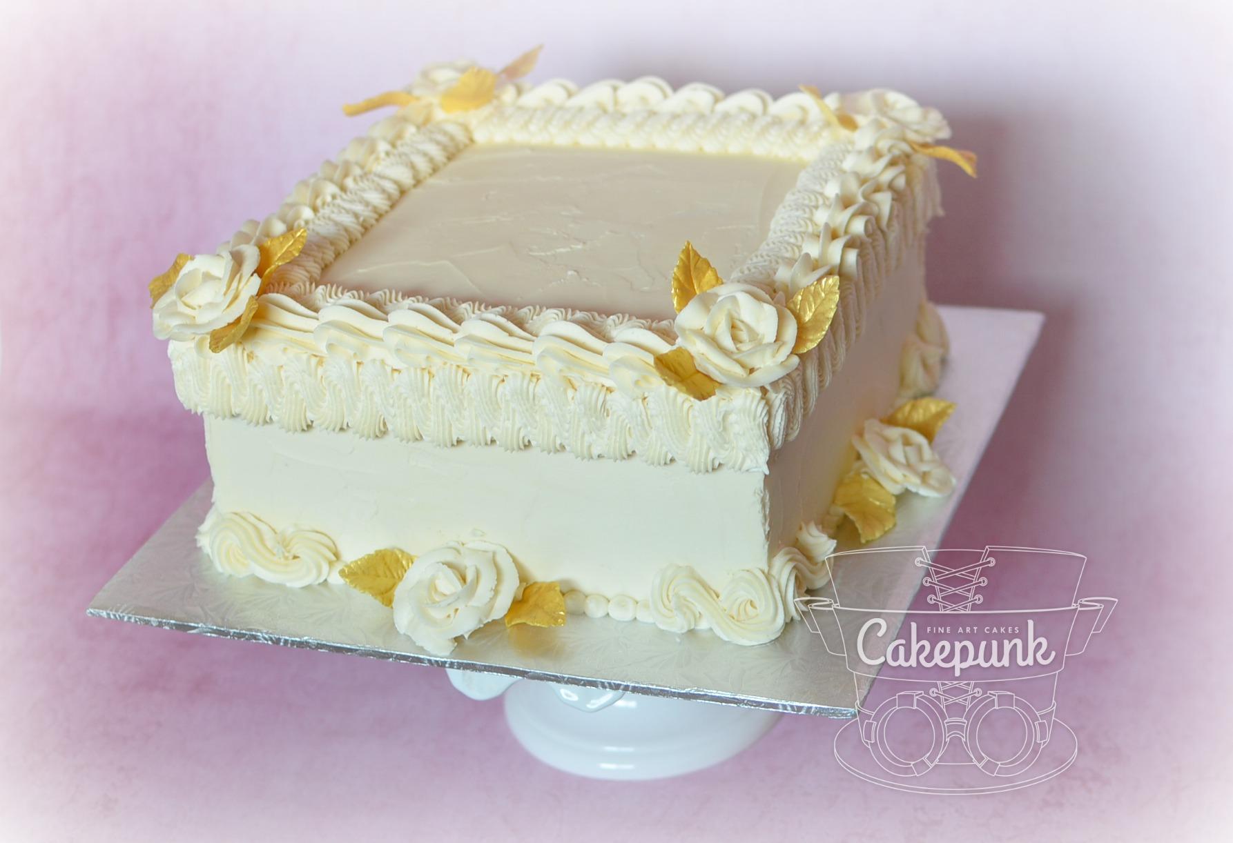 1950's Anniversary Cake