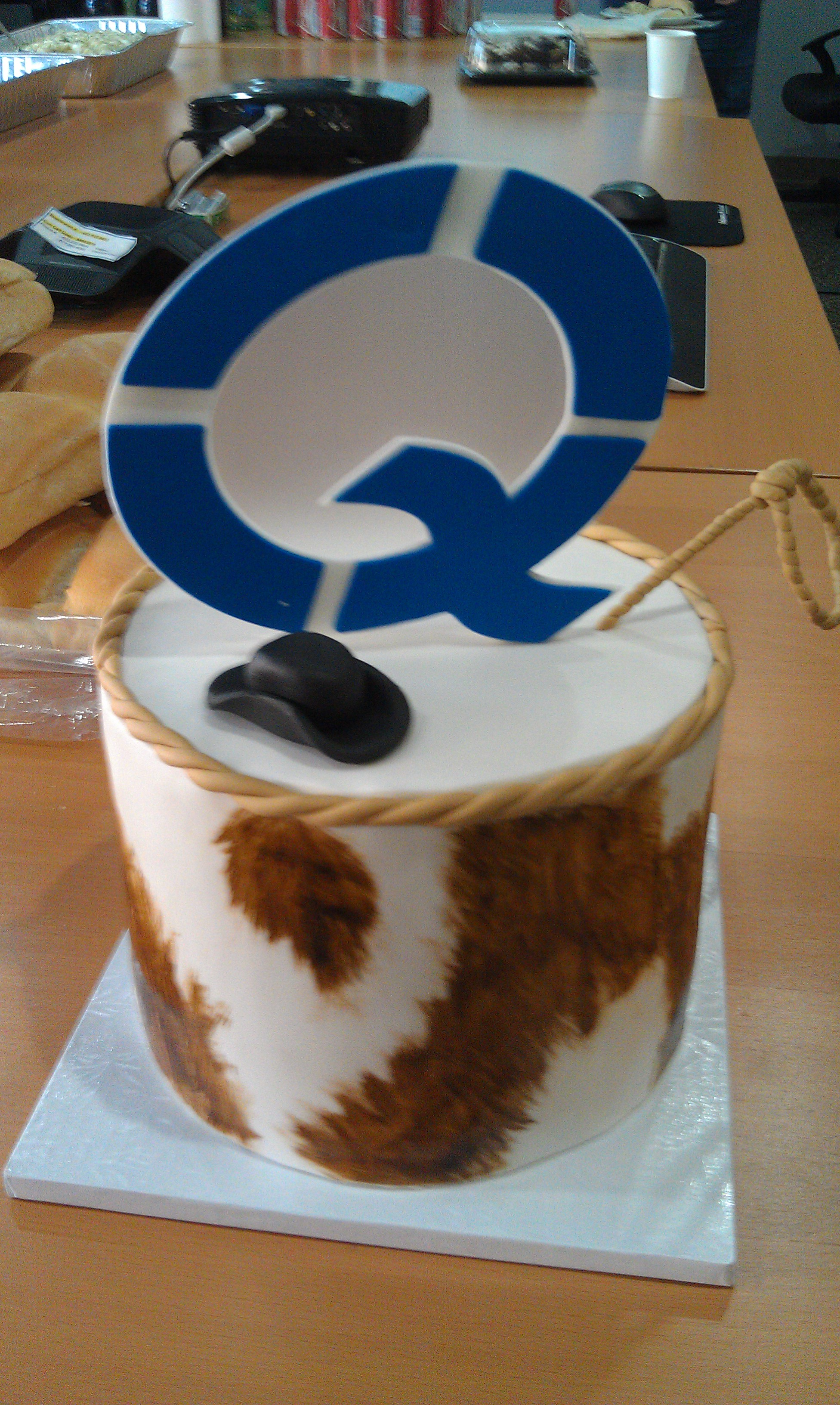 Quest Stampede Cake