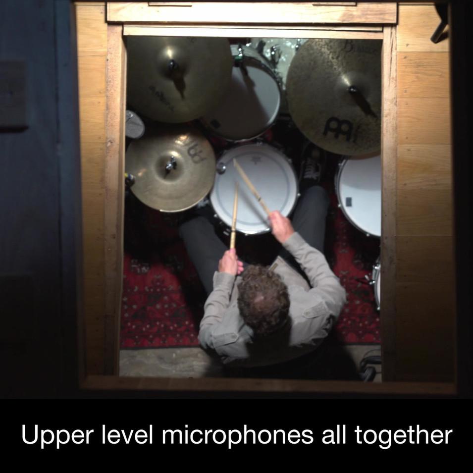 Capturing Huge Natural Reverb For Bigger Drums