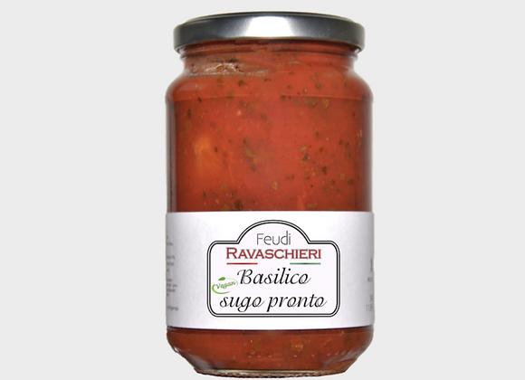 Органический томатный соус Базилико, Basilico Delikatesse, 340 гр.