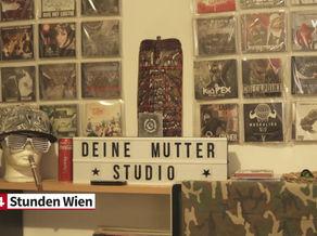 W24 berichtet über den Besuch von Marcus Franz im Deine Mutter Studio!