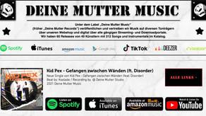 """Neue """"Deine Mutter Music"""" Releases - Übersicht"""