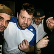 DJ King, Kid Pex, Nema, Emiliano (v.l.n.r.)