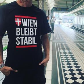 """""""Wien bleibt stabil"""" T Shirts ab sofort im Webshop!"""