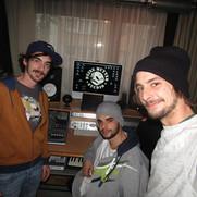 Die Lausbuam und DJ King (in der Mitter)