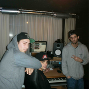 DMC, DJ King + Phil Fin (v.l.n.r.)