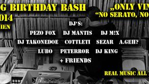 "DJ King Birthday Bash – ""ONLY VINYL"" Special (No Serato, No Laptop)"