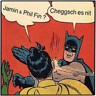 Jamin + Phil Fin - Cheggs es nit ? Cover