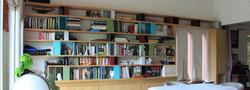 Bibliothèque métal bois