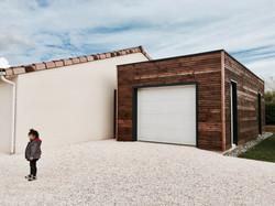 Garage-construction en bois
