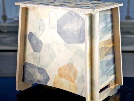 Watercolour - Print - Plywood
