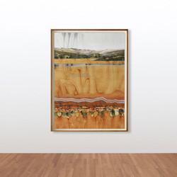 Stefan Gevers_Watercolours_Red Earth fra