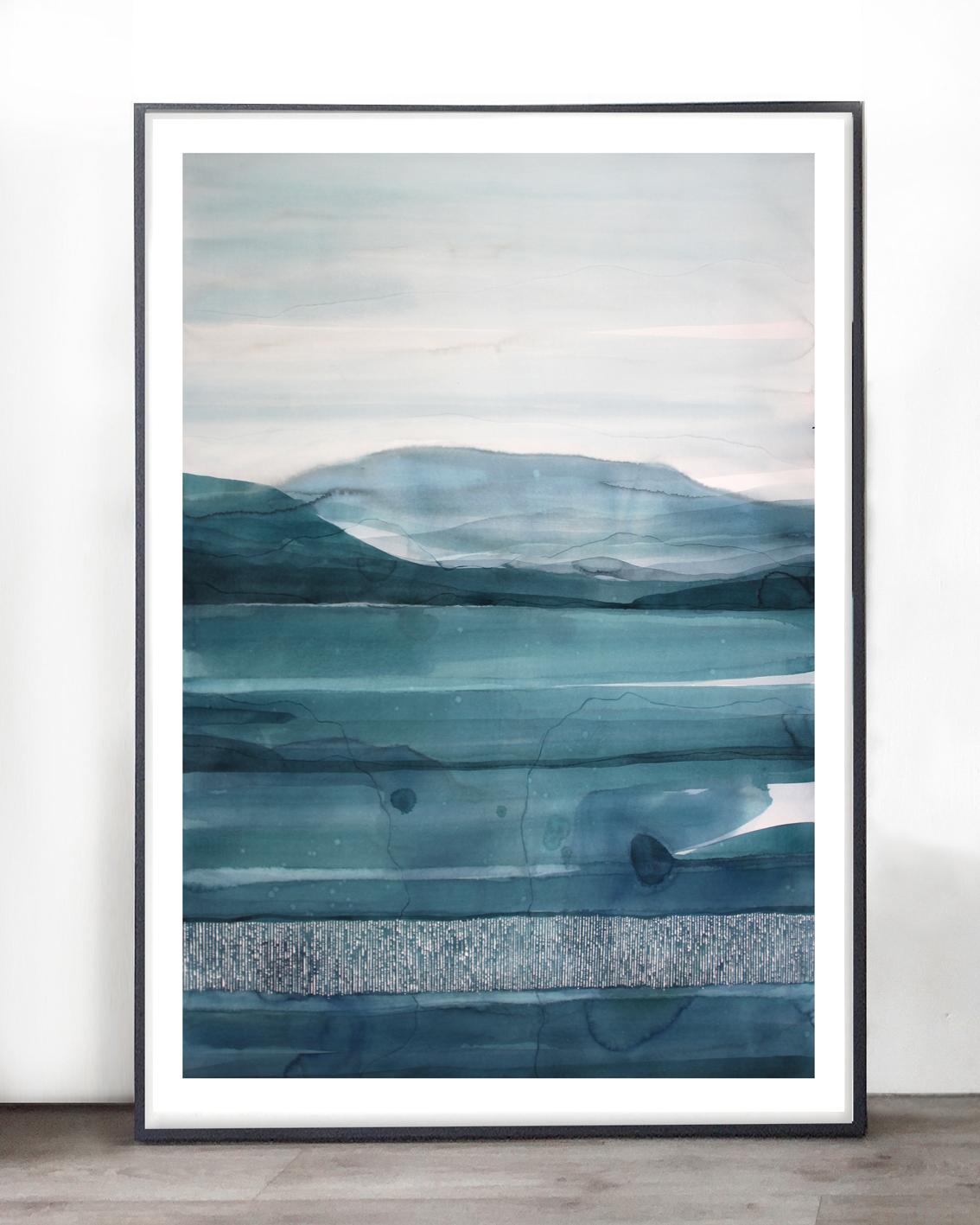 Green Sea | 130x100cm