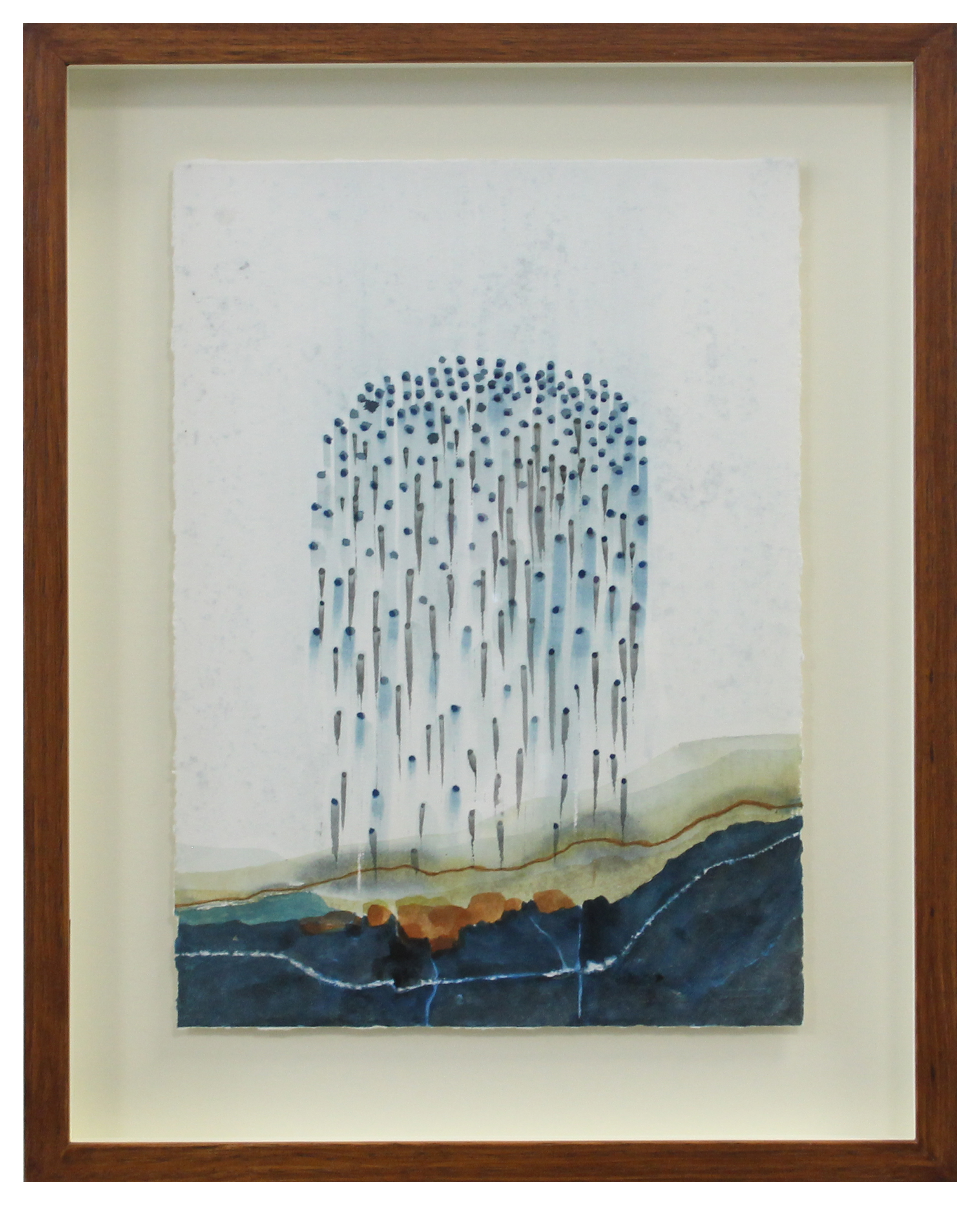 Stefan Gevers_Watercolours_falling rain