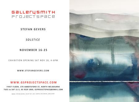 Solstice / 16 - 25 NOV / Exhibition