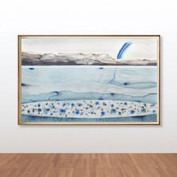 Stefan Gevers_Watercolours_blue rain fra