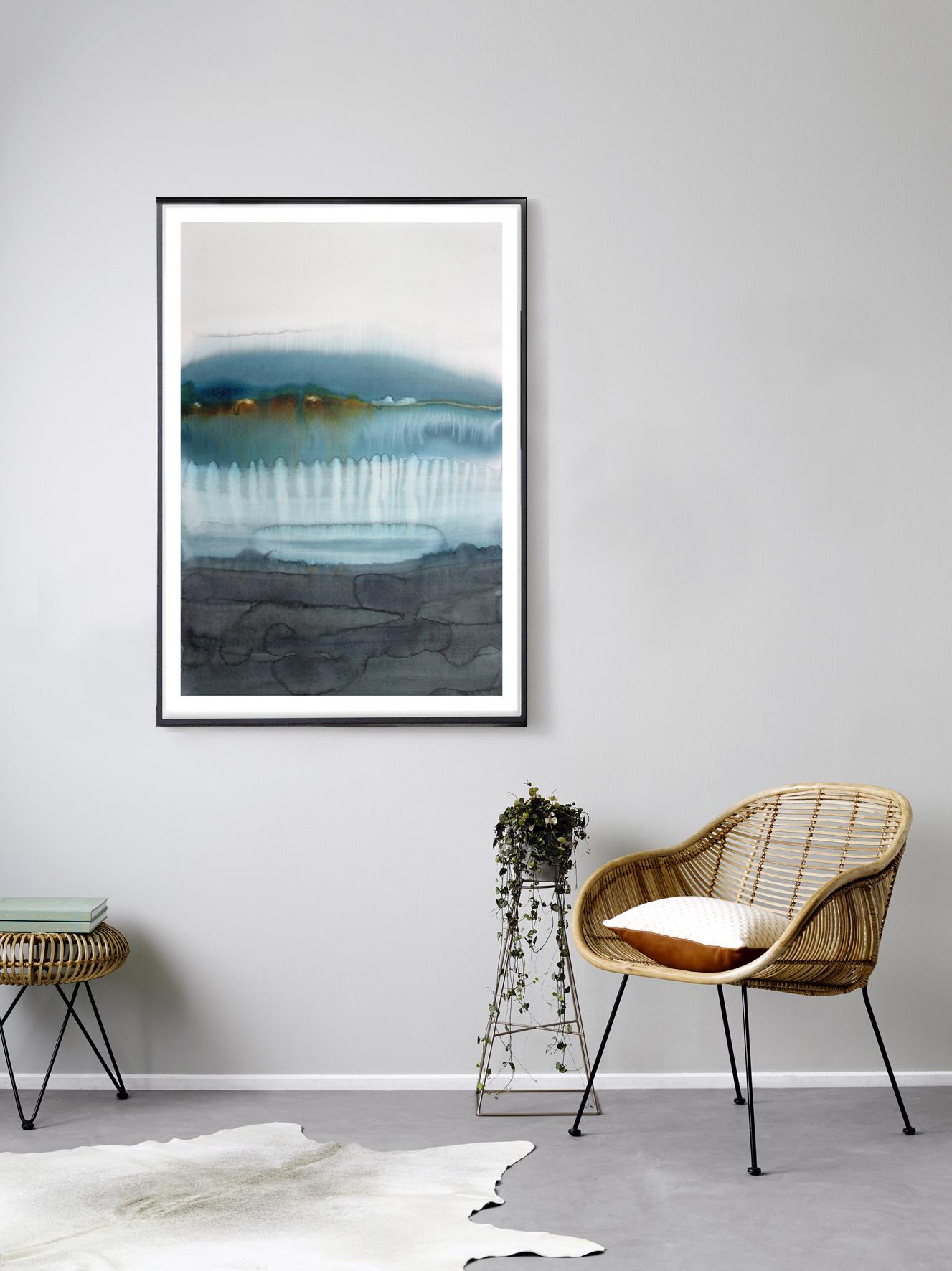 Evening Blue | watercolour | 75x54cm
