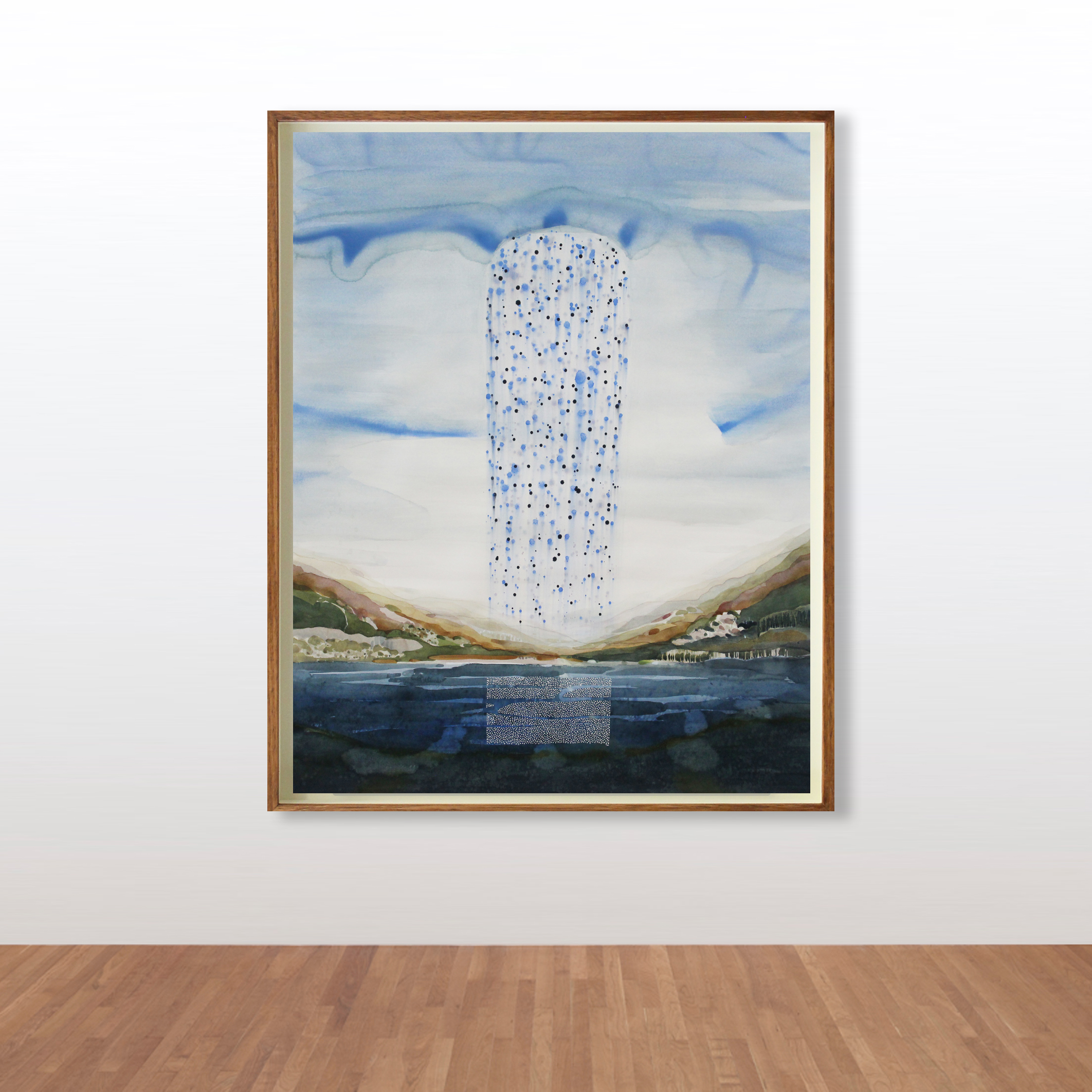 Stefan Gevers_Watercolours_Raincloud fra