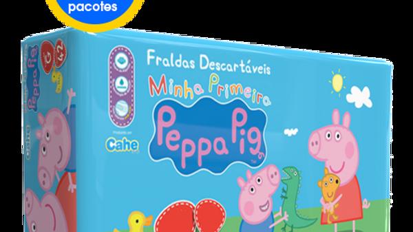 6 Pacotes Peppa Pig Econômica
