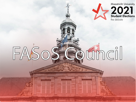 FASoS Faculty Elections 2021: the parties, their programs and the candidates