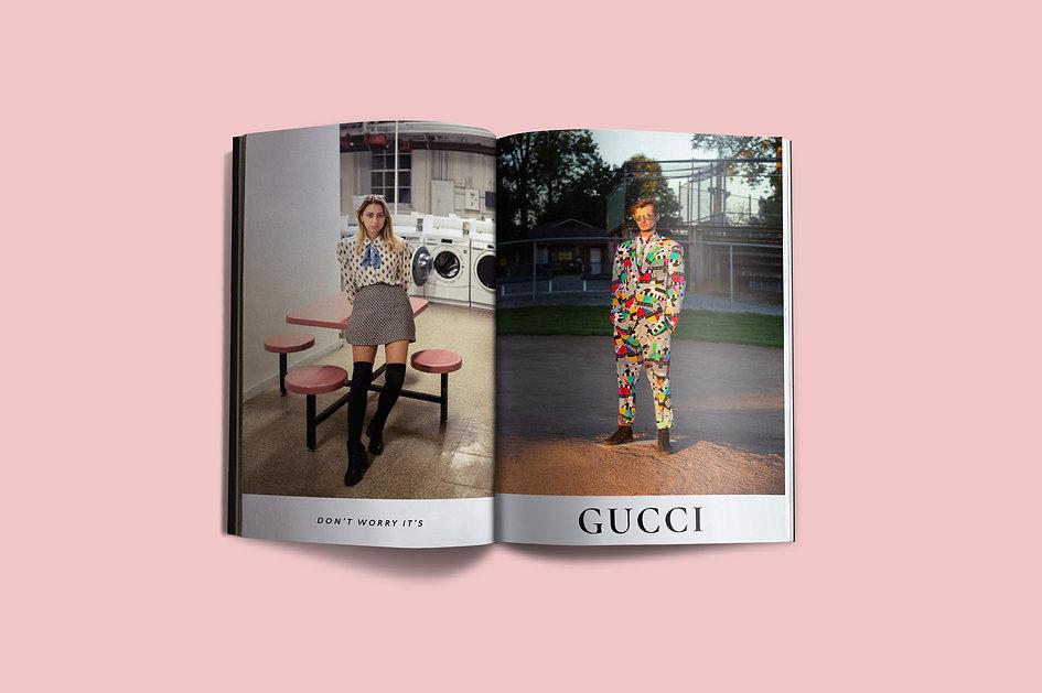 Gucci Ad Spread