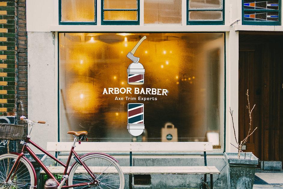 Arbor Barber Storefront