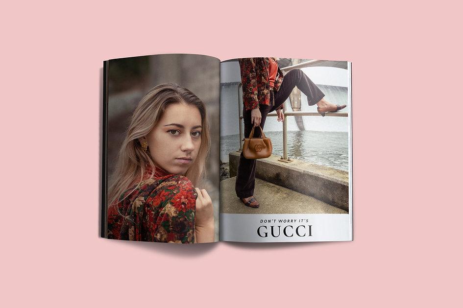 Gucci Ad Spreads