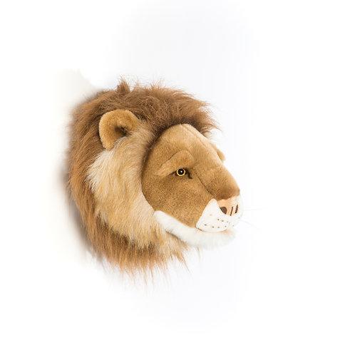 Cesar le lion - Trophée en peluche