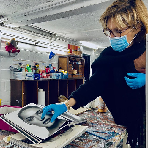 Créer votre tableau dans un atelier d'artiste - Pour elle