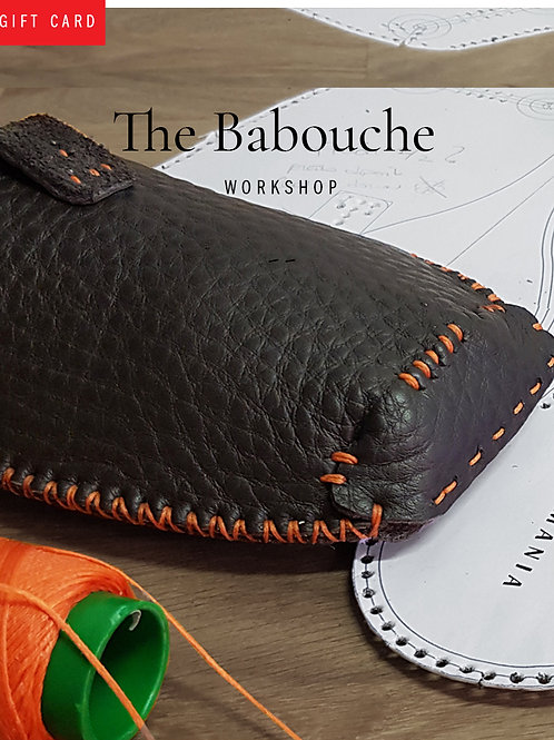 Workshops / Ateliers cuir - The Babouche | babouche en cuir