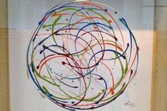 Fabienne Brever - Map - Acrylique sur plexiglas