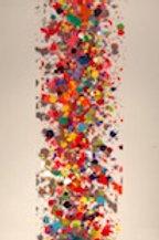 Fabienne Brever - Chaos - Acrylique sur plexiglas