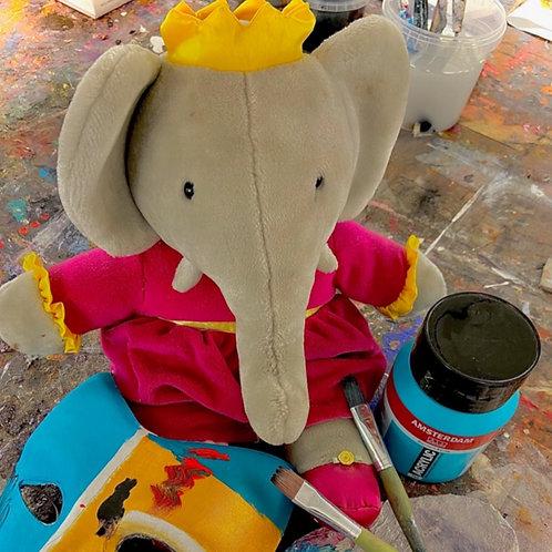Créer votre tableau dans un atelier d'artiste - Enfants