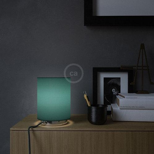 LAMPE AVEC ABAT- JOUR