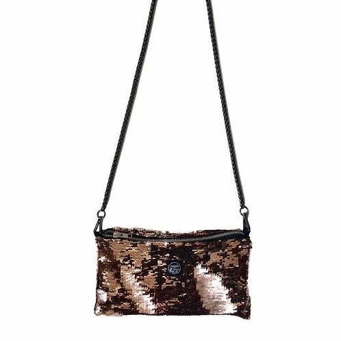 Night bag sequins reversible