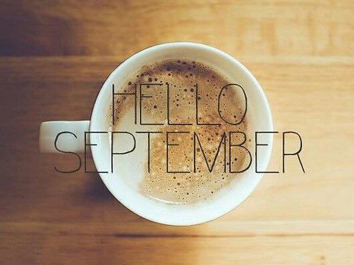Rentrée de Septembre - à partir de