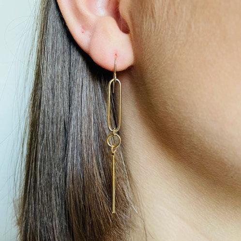 Stéphanie Ferretti - Boucles d'oreilles géométriques