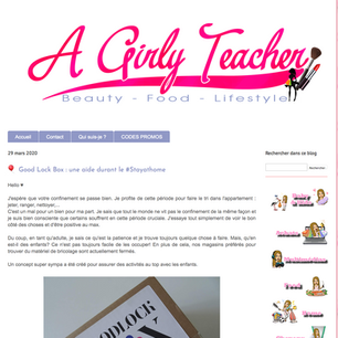 A girly teacher