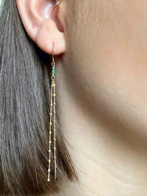 Stéphanie Ferretti - Boucles d'oreilles Océan