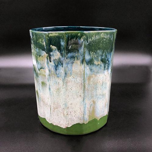 Terres de Rêves - Faceted vase