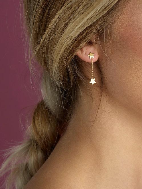 Olivia des Cressonnières - Boucles d'oreilles Inès