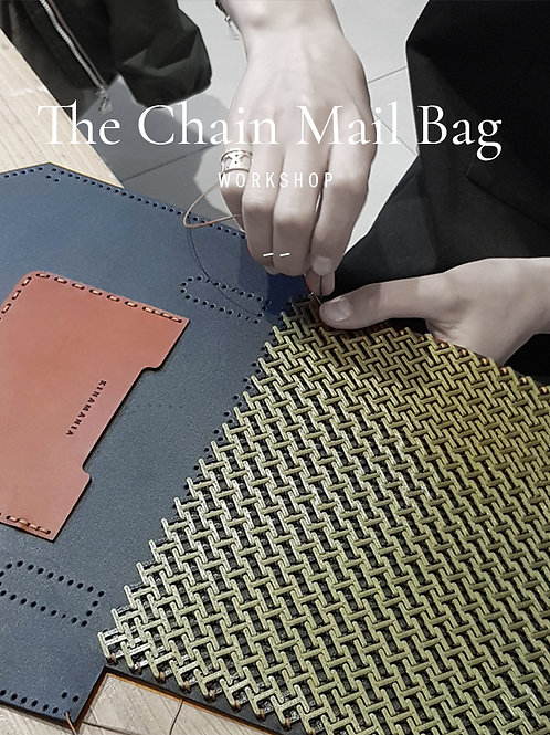 Workshops / Ateliers cuir - The Chain Mail | pochette cuir