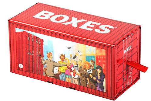 BOXES - Enchères, bluff, observation, stratégie