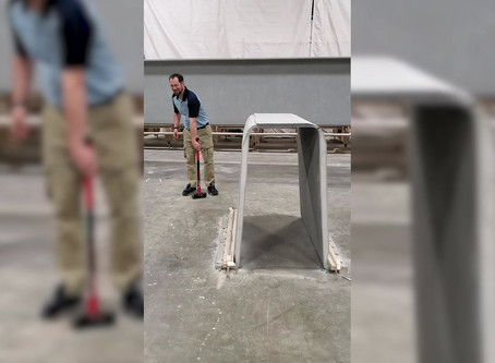 Video: CT Girder Meets Sledgehammer