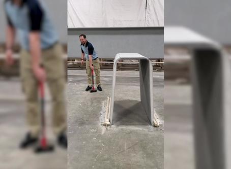 Video: CT Girder Meets Sledgehammer